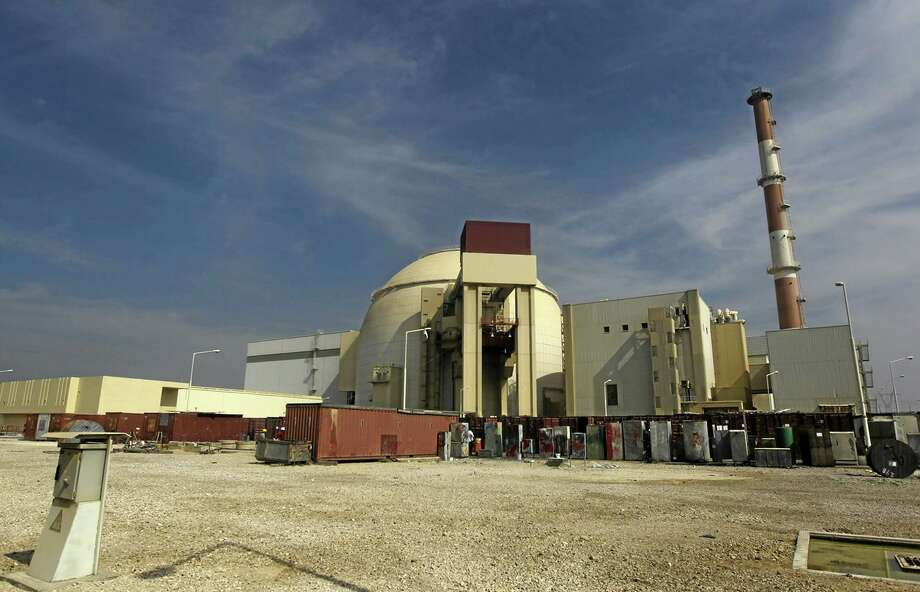 In this 2010 file photo, the reactor building of the Bushehr nuclear power plant is seen just outside the southern city of Bushehr, Iran. Photo: AP File Photo   / Mehr News Agency