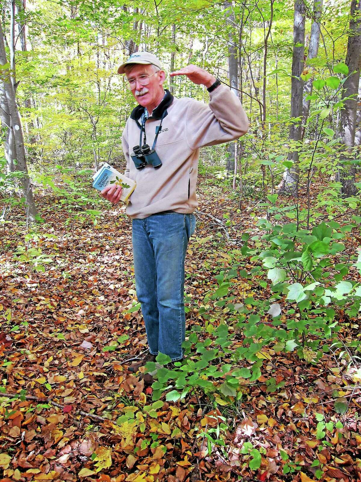 Bill Horne will lead the Branford Land Trust May Wildflower Walk Saturday.