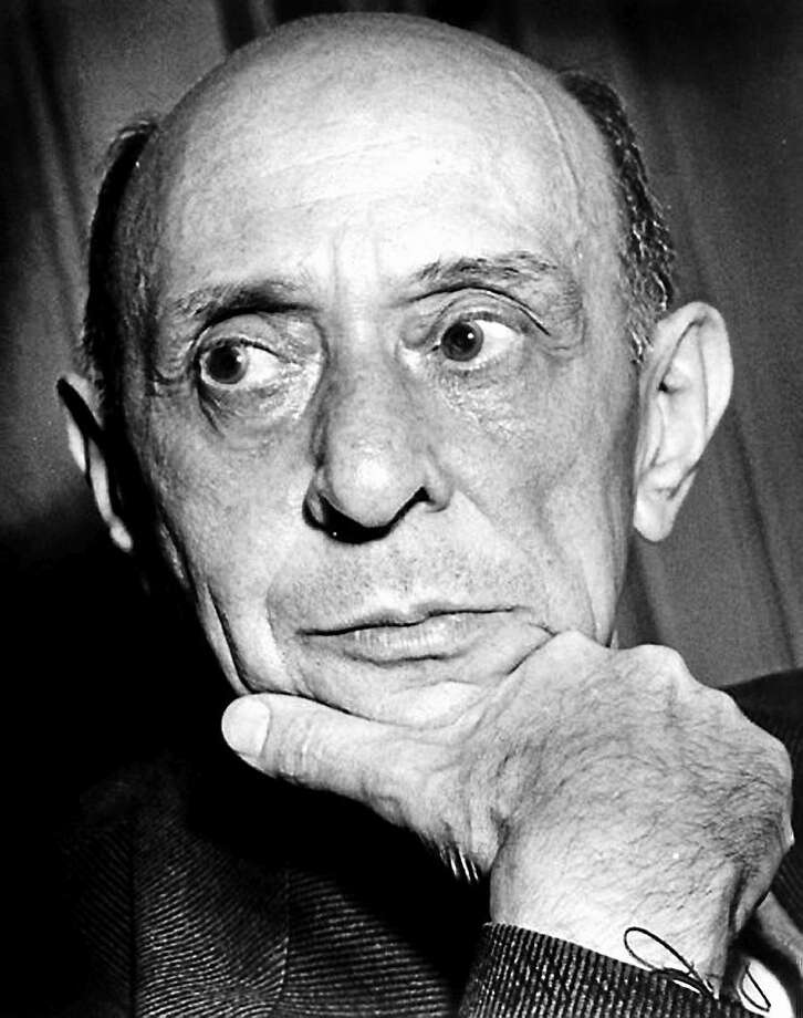 Arnold Schoenberg Photo Contributed