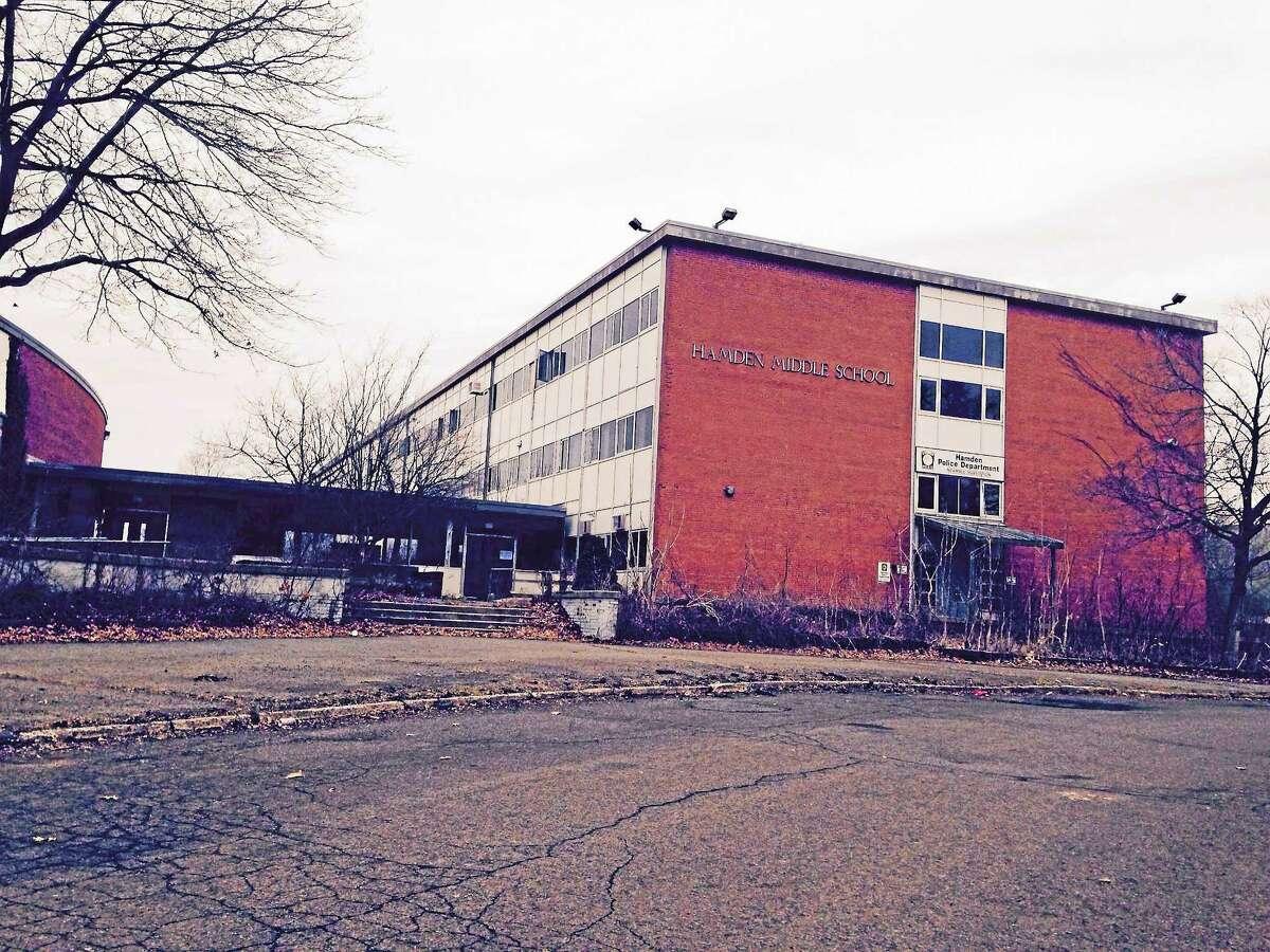 The old Hamden Middle School.