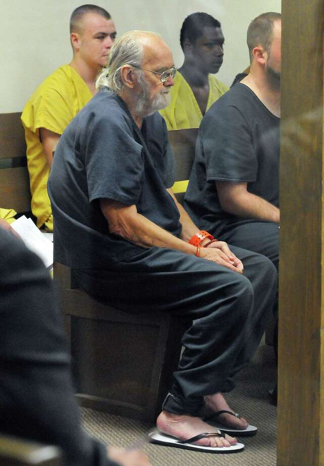 FILE - In this Thursday, May 14, 2015 file photo, Frank Freshwaters waits during a court hearing at the Brevard County Jail, in Cocoa, Fla.   Freshwatersí sentence was recalculated based on his time at large and in custody to determine that heíll have a hearing in August on the issue of possible parole, Ohio Department of Rehabilitation and Correction spokeswoman JoEllen Smith said Wednesday, May 27, 2015.  (Craig Rubadoux/Florida Today via AP, File)  NO SALES, MAGS OUT Photo: AP / Florida Today