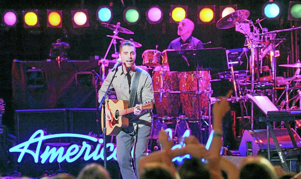 """Nick Fradiani performs in the Feb. 25 """"Top 12 Boys Perform"""" episode of AMERICAN IDOL XIV."""