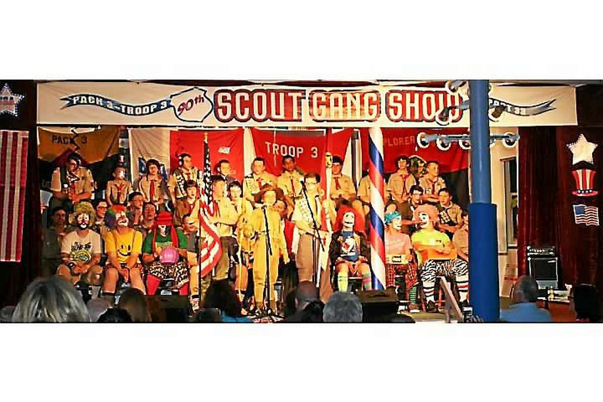 (Contributed photo)An annual Scout Gang Show