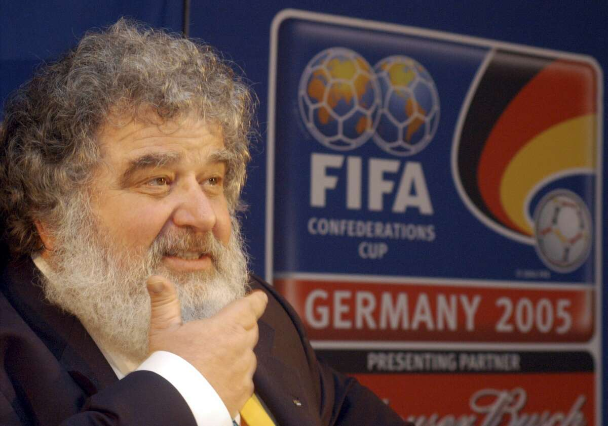 Shown is CONCACAF Secretary General Chuck Blazer, who was one of four men who pleaded guilty in the Justice Department's corruption investigation into FIFA.