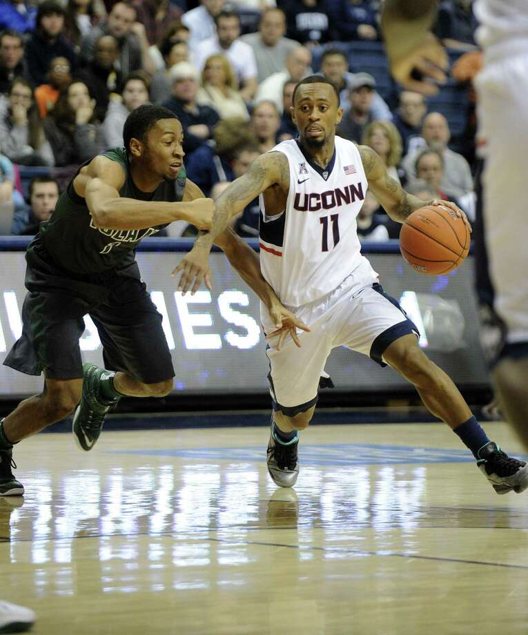 Some NBA scouts believe UConn's Ryan Boatright (11) can be a second-round selection in the NBA draft. Photo: Fred Beckham — The Associated Press   / FR153656 AP