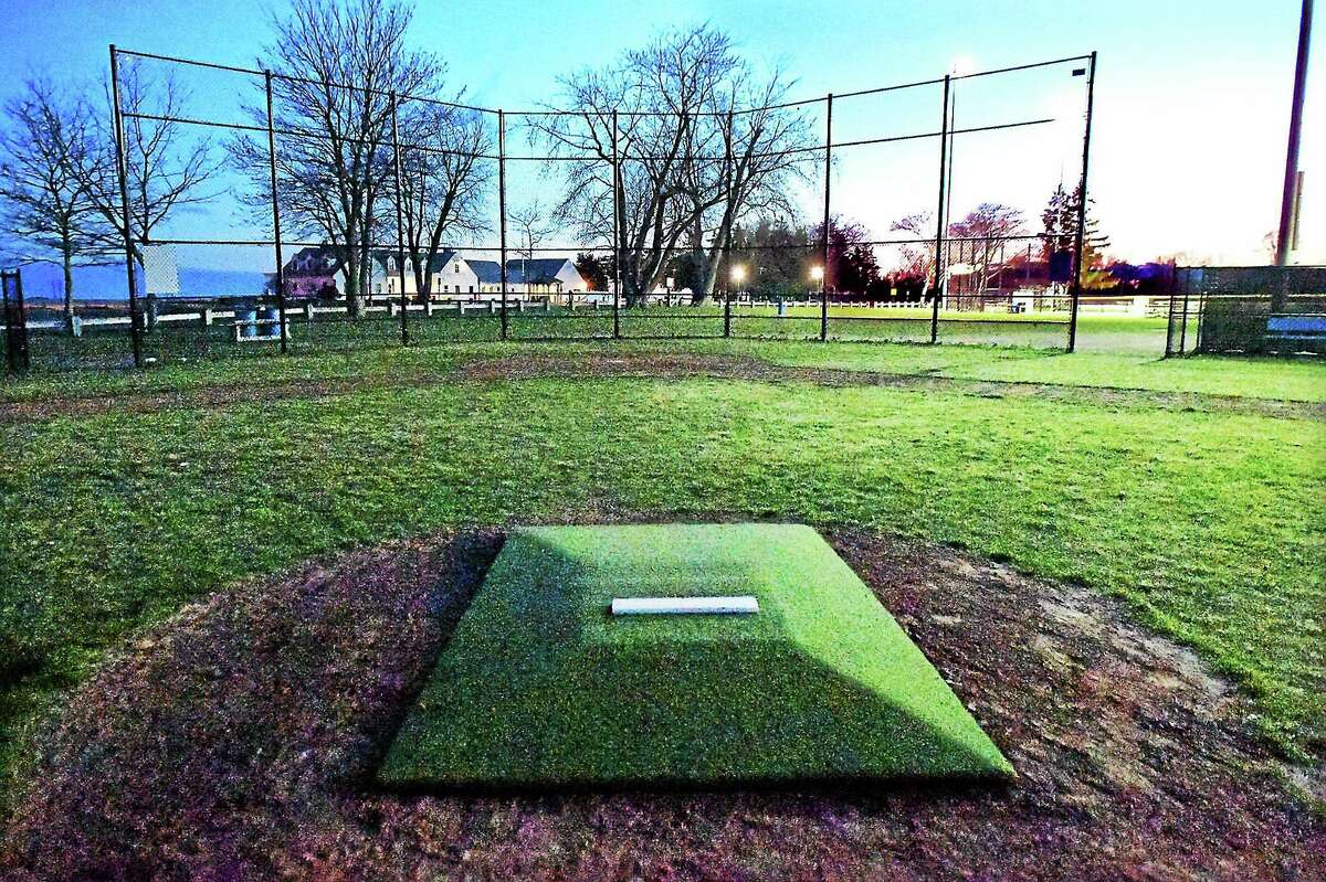 (Catherine Avalone - New Haven Register) Little League field at the Surf Club in Madison. Madison residents are complaining the fields in town need to be better maintained and believe it is a safety issue for young athletes.