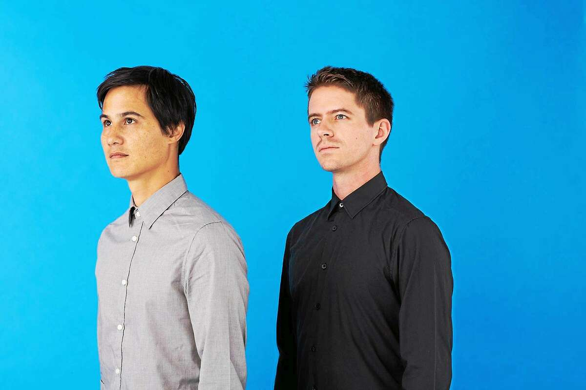Meric Long, left, and Logan Kroeber are The Dodos.