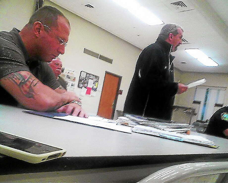 Former East Haven police Officer Robert Ranfone, left. Photo: Journal Register Co.