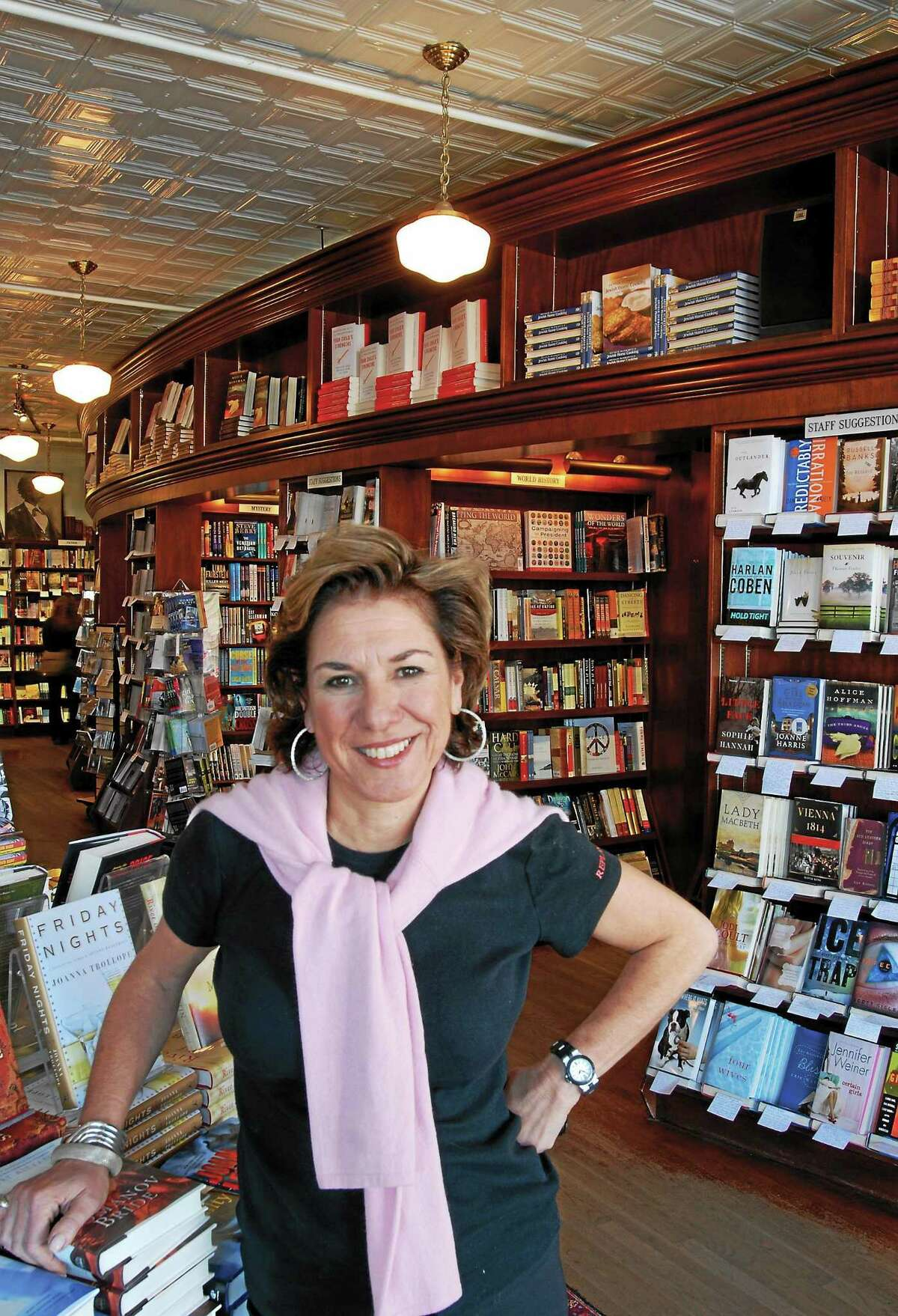 Roxanne Coady, owner of R.J. Julia Booksellers in Madison