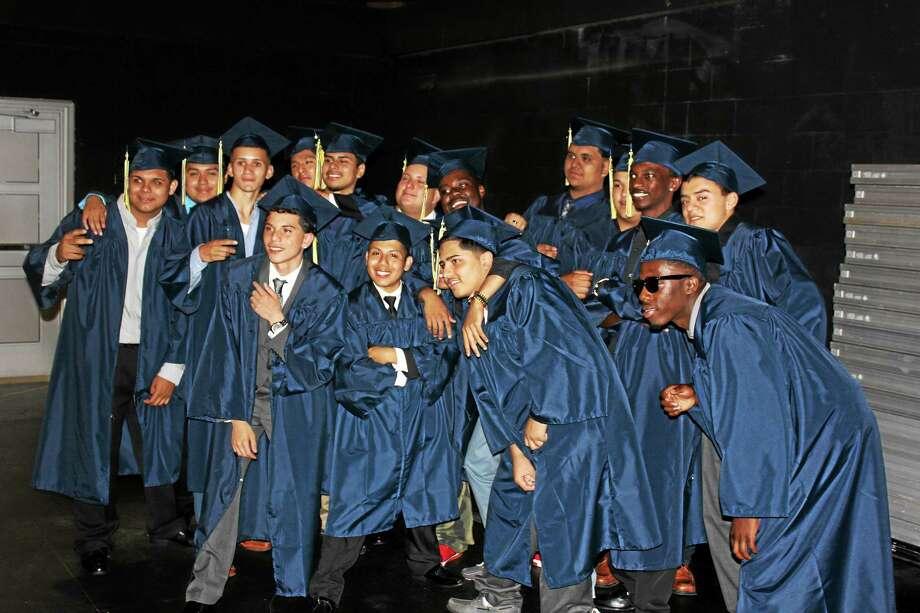 Eli Whitney Technical High School graduates Photo: Journal Register Co.