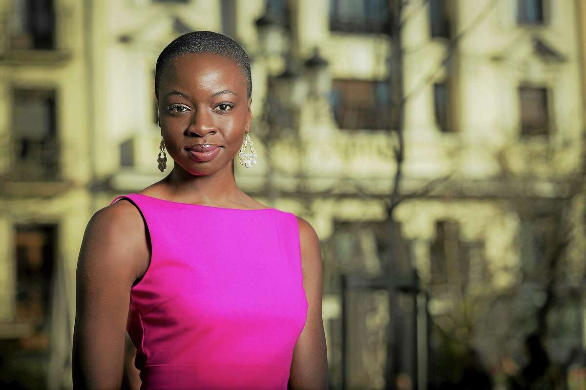 """Danai Gurira's """"Familiar"""" opens Friday. Her other plays produced by Yale Rep are """"In the Continuum,"""" co-written with Nikkole Salter, in 2007 and """"Eclipsed"""" in 2009."""