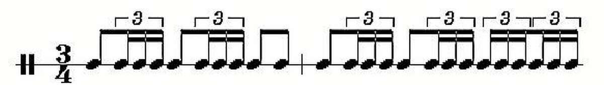 "The percussionist sets the tone throughout ""Bolero."""