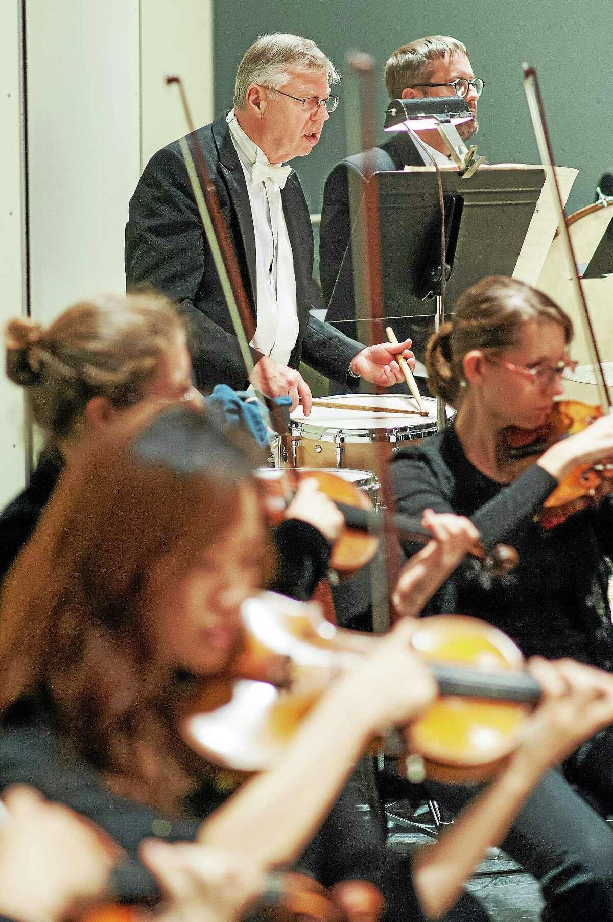 Percussionist David Smith