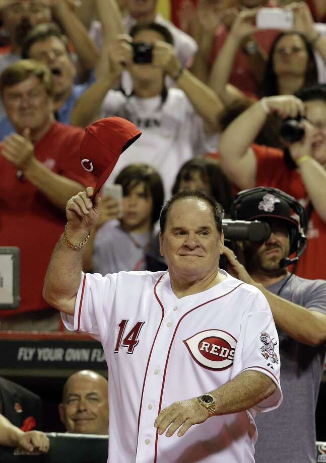 Major League Baseball Commissioner Rob Manfred said Thursday that Pete Rose will play some role during this summer's All-Star Game in Cincinnati. Photo: Al Behrman — The Associated Press File Photo   / AP