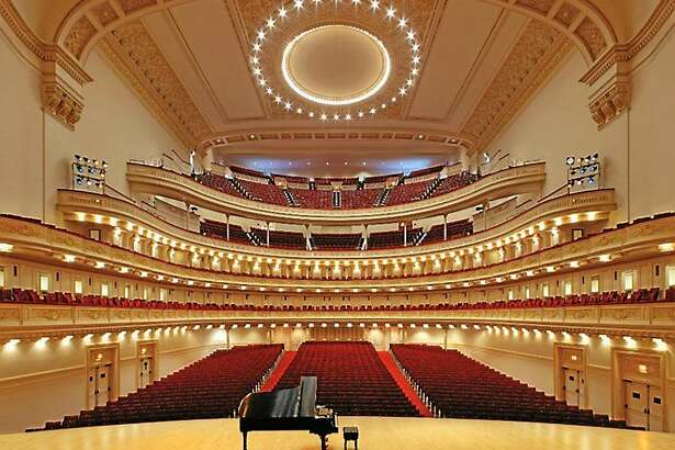 Contributed  Carnegie Hall in New York City.