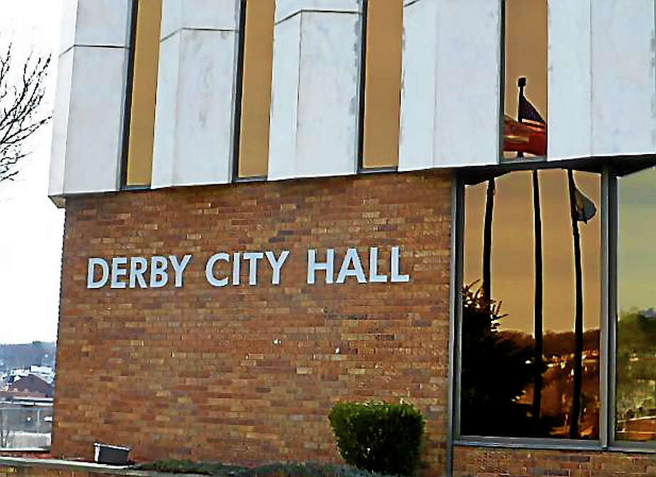 Derby City Hall Photo: Journal Register Co.