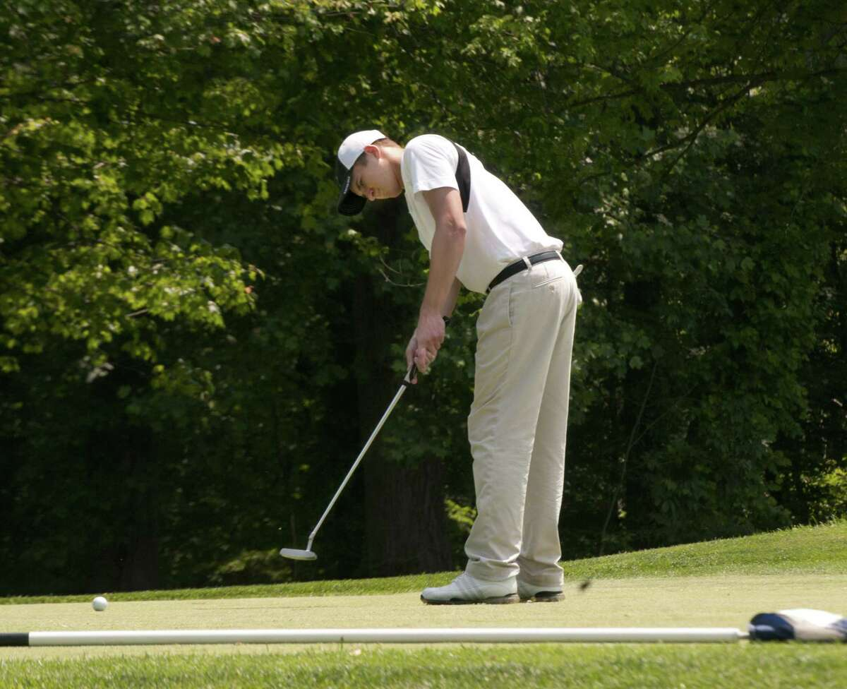 Penn State golfer Geoff Vartelas was a two-time Register Area MVP while at Xavier.
