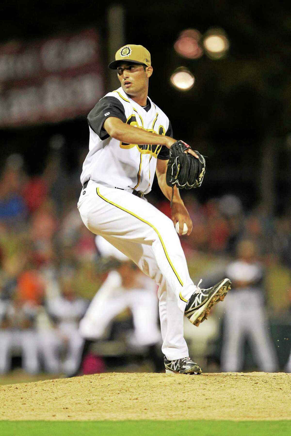 Madison native and UConn product Greg Nappo is 3-0 with a 2.01 ERA for the Double-A Jacksonville Suns this season.