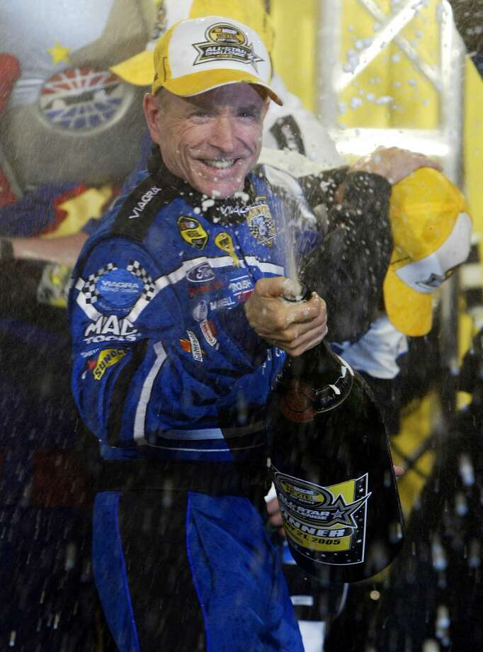 Retired NASCAR driver Mark Martin and former motocross star Ricky Carmichael are among the 2015 inductees into the Motorsports Hall of Fame of America. Photo: Chuck Burton — The Associated Press   / AP