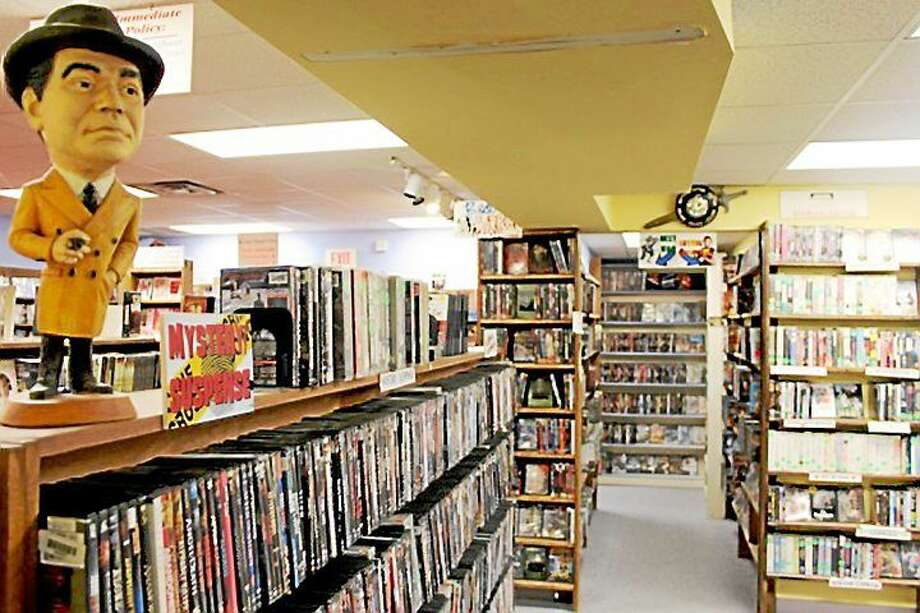 Best Video in Hamden is in the process of becoming the nonprofit Best Video Film & Cultural Center. Photo: Contributed