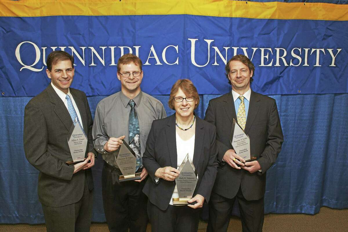 From left, Jeffrey Cooper, Christian Eggers, Ruth Schwartz and Alexander Laskin.