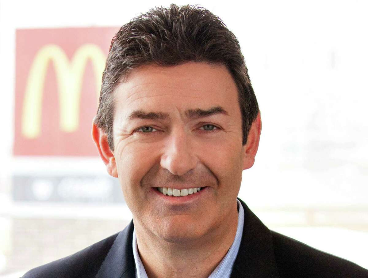 McDonald's President and CEO Steve Easterbrook
