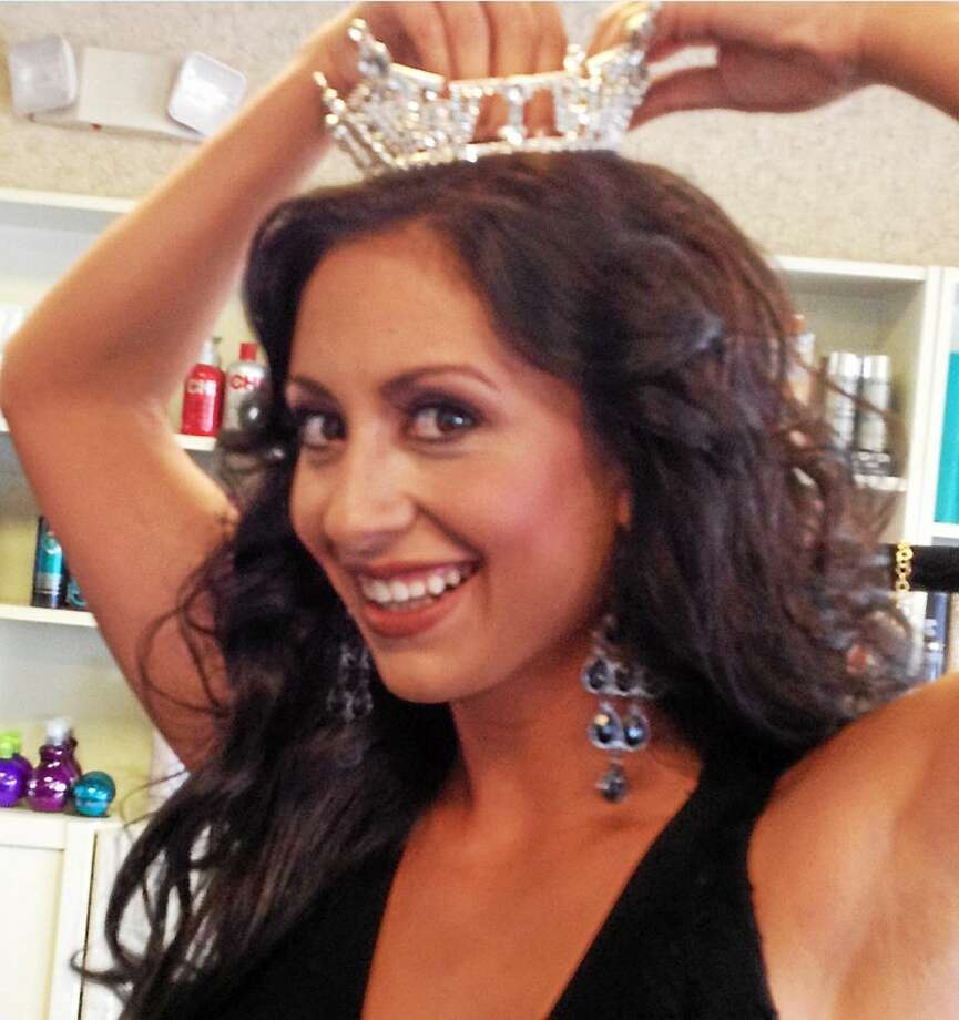 Mark Zaretsky -- New Haven Register  Cara Ann Cama of West Haven with crown. Photo: Journal Register Co.