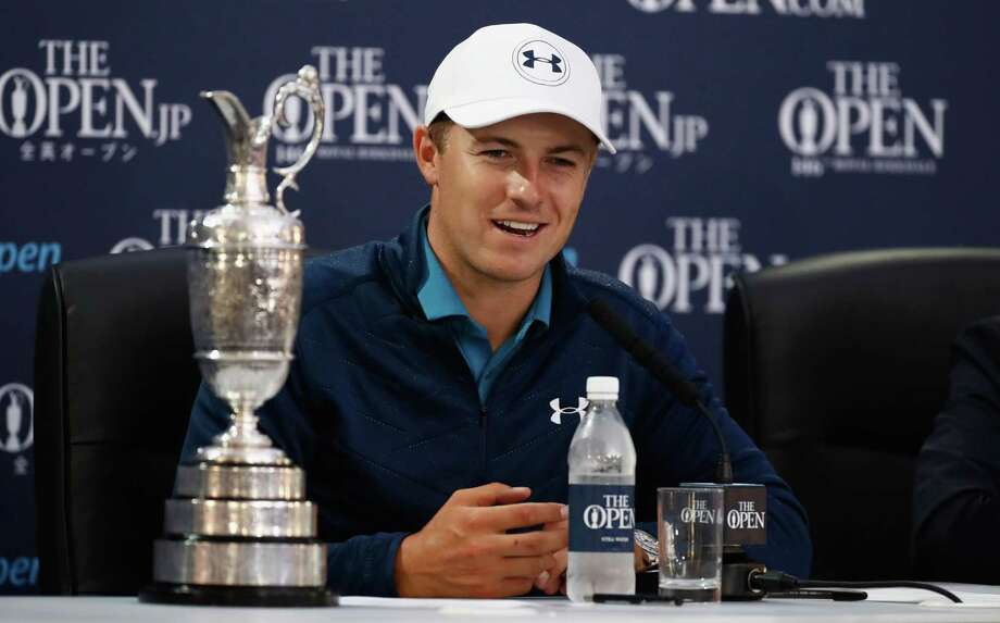 Jordan Spieth conjured the spirit of Seve with favourable drop