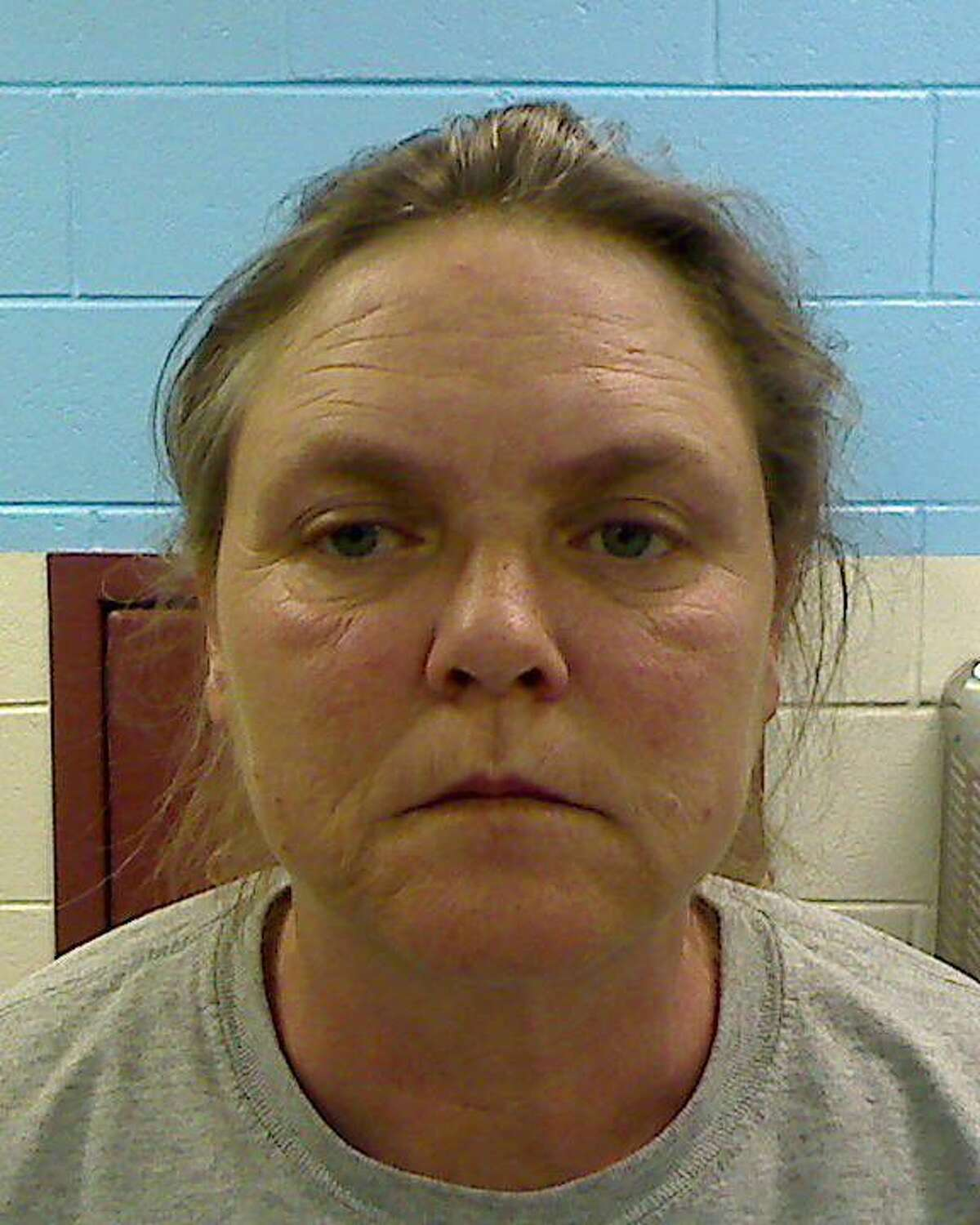 FILE - This file photo released by the Etowah County Sheriff's Dept. on Wednesday, Feb. 22, 2012 shows Joyce Hardin Garrard, 46. A jury convicted 49-year-old Joyce Hardin Garrard late Friday March 20. 2015 in the February 2012 death of Savannah Hardin, siding with prosecutors who depicted Garrard as a