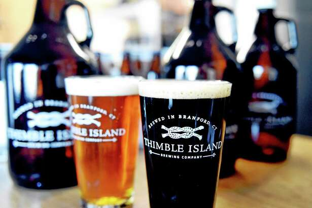 The Shoreline Chamber of Commerce Beer Tour Sunday stops at four Branford breweries, including Thimble Island Brewing Co.