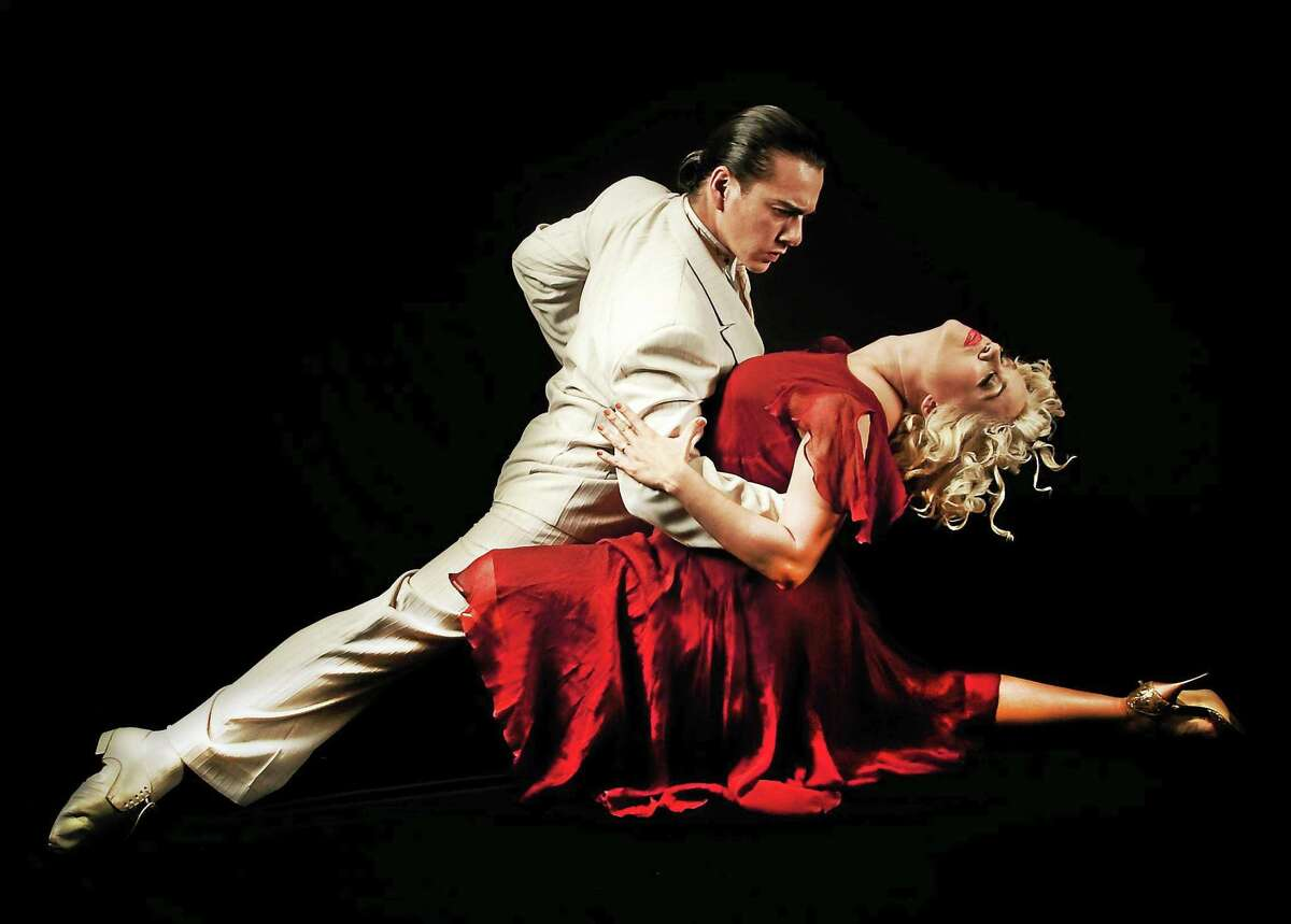 Carlos Barrionuevo and Mayte Valdes, recognized as the world's greatest contemporary Argentine tango dancers, visit Bridgeport Saturday evening.