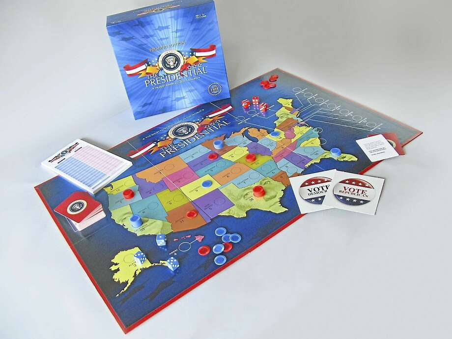 A board game featuring the electoral college details. Photo: Submitted Photo