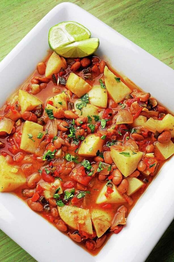 Potato-Bean Stew. Photo: Deb Lindsey — The Washington Post   / THE WASHINGTON POST