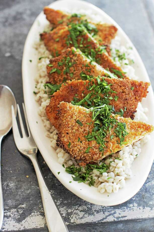 Sweet-and-Spicy Panko-Crusted Chicken. Photo: Matthew Mead — The Associated Press   / FR170582 AP