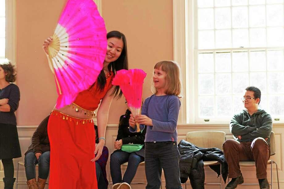 A fan demonstration at Lunarfest. Photo: Contributed   / Yale-China Association