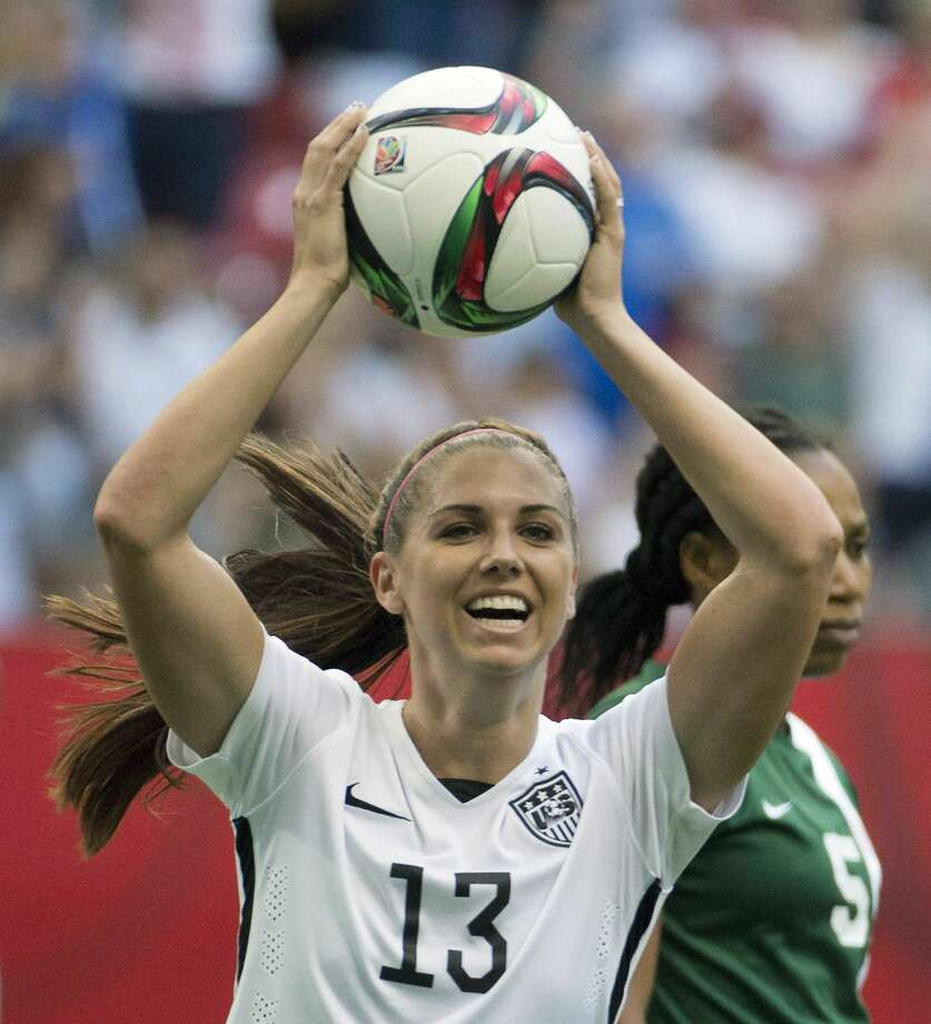 Alex Morgan is hoping to help the United States win a third Women's World Cup title. Photo: Jonathan Hayward — The Associated Press   / CP
