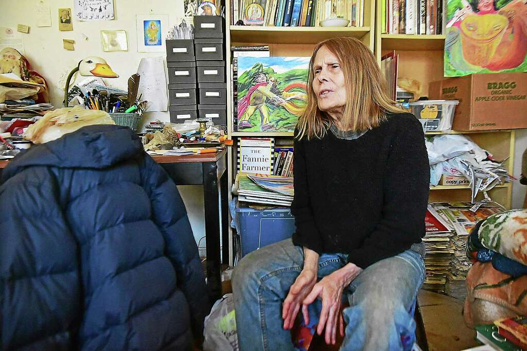 Elizabeth Walker In Her New Haven Apartment