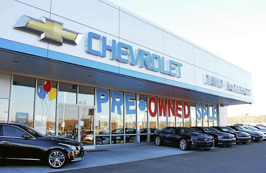 The David McDermott Auto Group Chevrolet and Lexus dealership in East Haven. Photo: Esteban L. Hernandez — New Haven Register