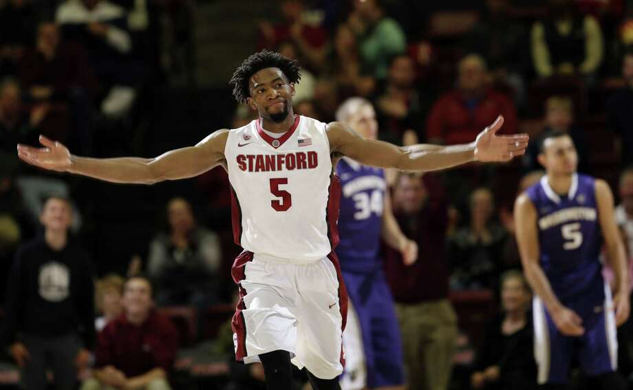 Guard Chasson Randle and the Stanford men's basketball team has won six of its last seven games. Photo: The Associated Press File Photo   / AP