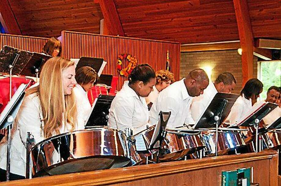 St. Luke's Steel Band in action. Photo: Contributed