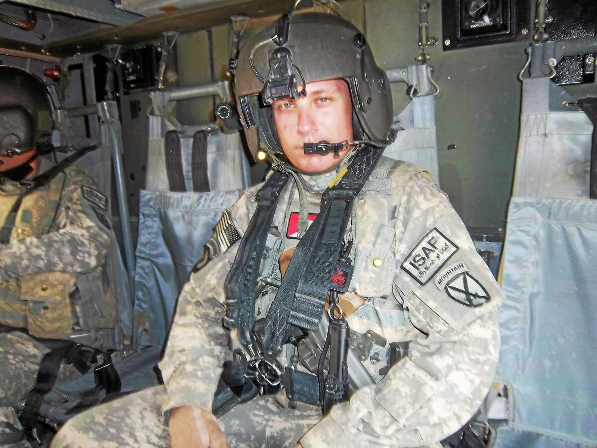 """Erik Sabiston locked himself in his room and about 10 days later came out with """"Dustoff 7-3: Saving Lives Under Fire in Afghanistan."""""""