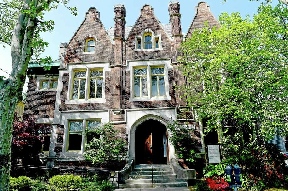 The John Slade Ely House for Contemporary Art on Trumbull Street in New Haven. Photo: Peter Hvizdak — New Haven Register   / ?2015 Peter Hvizdak