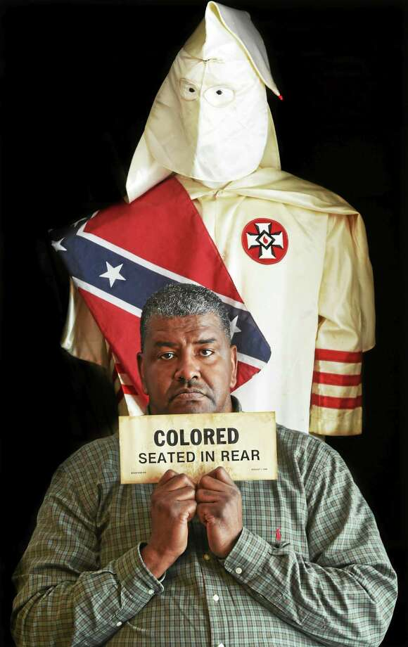 Jeffrey Fletcher of Branford, a  20-year veteran of the New Haven Police Department, has a private collection of slave and segregation artifacts including items pertaining to the Tuskegee airmen that he will have on display in fall 2015 at the University of New Haven. Photo: (Peter Hvizdak — New Haven Register)   / ?2015 Peter Hvizdak
