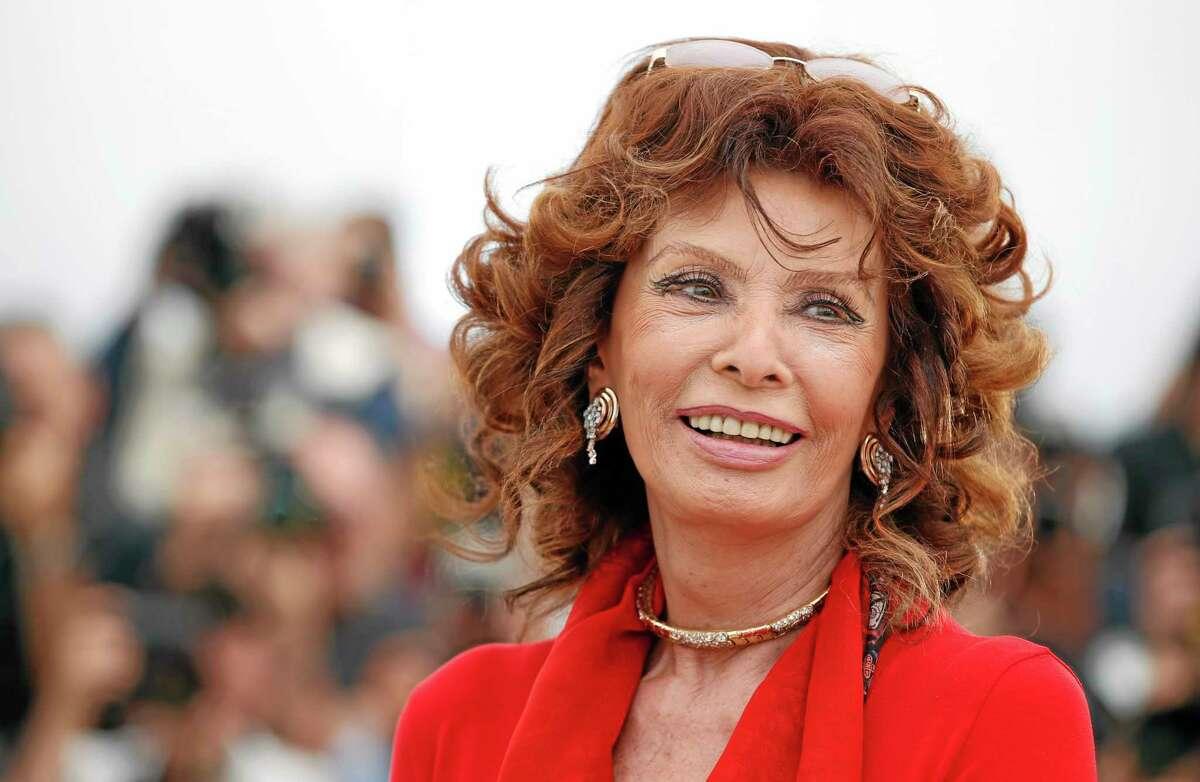 Sophia Loren in May 2014.