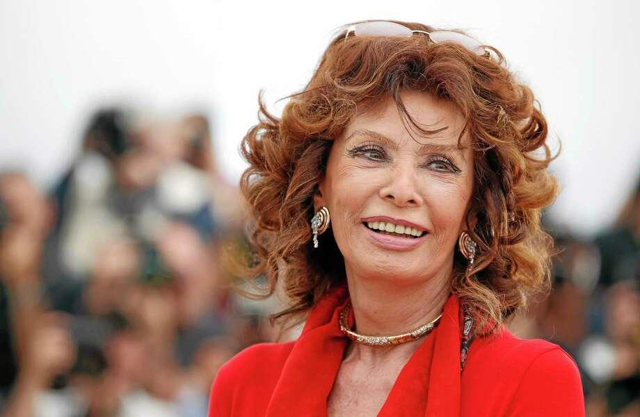 Sophia Loren in May 2014. Photo: Alastair Grant — The Associated Press   / AP