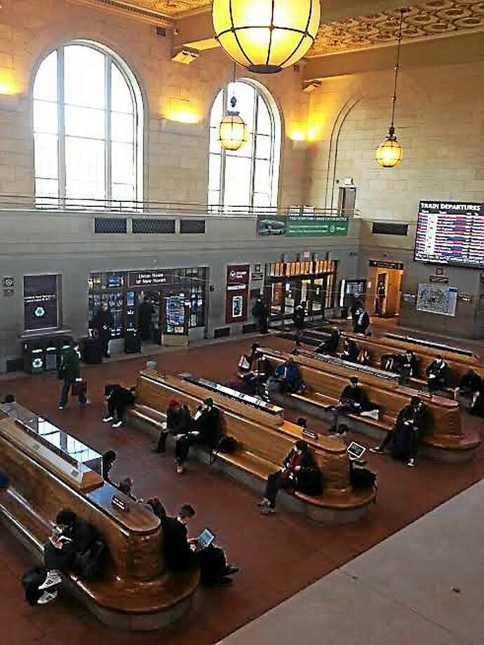 Interior of Union Station New Haven. Photo: Mary O'Leary/New Haven Register
