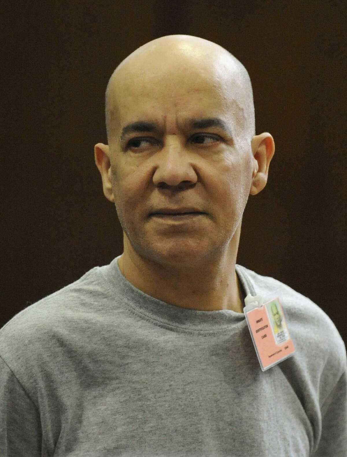 FILE - In this Nov. 15, 2012, file photo, Pedro Hernandez appears in Manhattan criminal court in New York. The 1979 disappearance of a young boy that stunned the nation has ended in an agonizing stalemate, with just one juror unconvinced that a former stock clerk was guilty of the crime that has confounded authorities for decades. The deadlocked jury spent 18 days in painstaking deliberations poring over evidence and testimony, trying to decide whether to believe Pedro Hernandez's confession that he choked 6-year-old Etan Patz to death and dumped his body a few blocks away.