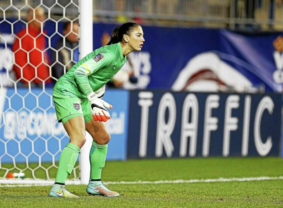 New details from U.S. goalkeeper Hope Solo's arrest were revealed in an ESPN report on Sunday. Photo: The Associated Press File Photo   / FR27227 AP