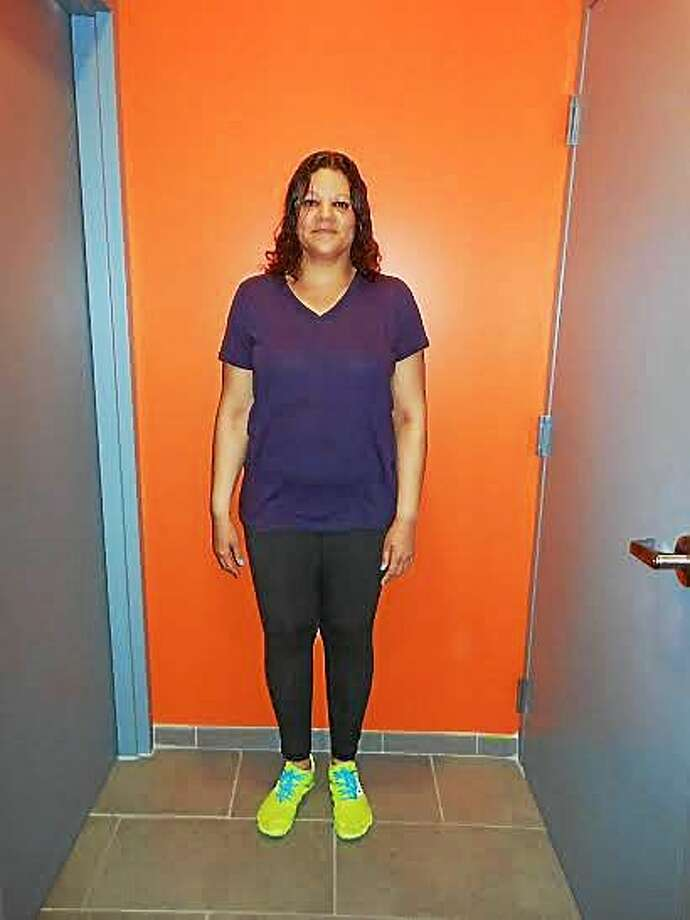 Melissa Mas, after losing 50 pounds in the Orangetheory Fitness Weight Loss Challenge. Photo: Journal Register Co.