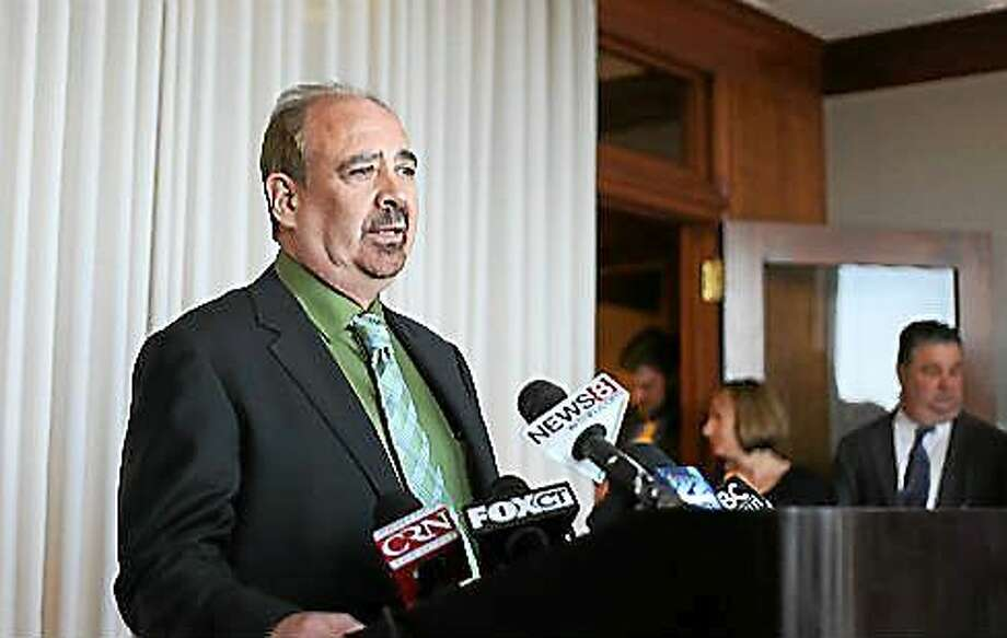 Clyde Barrow, a consultant with Pyramid Associates. Photo: Christine Stuart — CT News Junkie